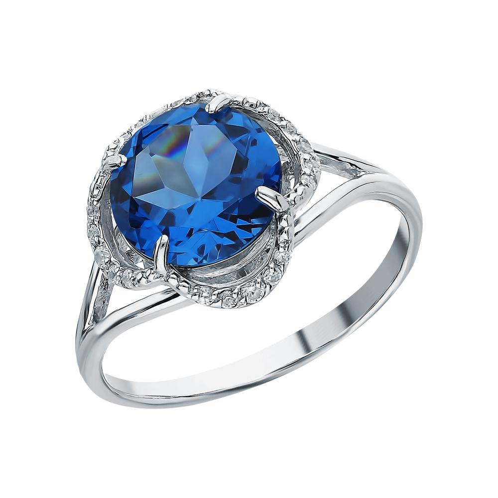 Серебряное кольцо с лондонами топазами в Санкт-Петербурге