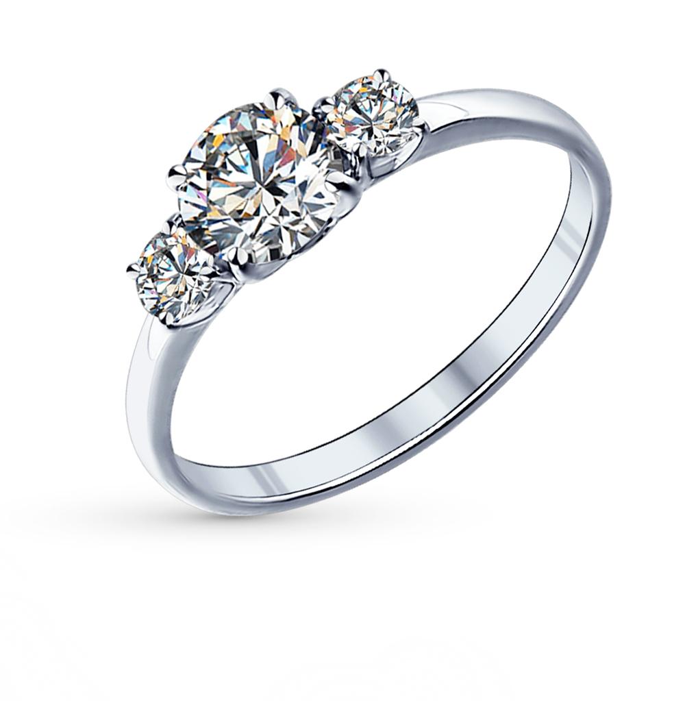 Серебряное кольцо с фианитами SOKOLOV 89010008 в Санкт-Петербурге