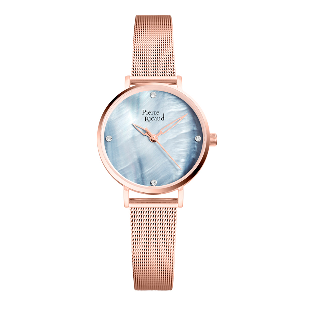 Фото «Женские часы P22043.914ZQ на стальном браслете сIPпокрытием с минеральным стеклом»