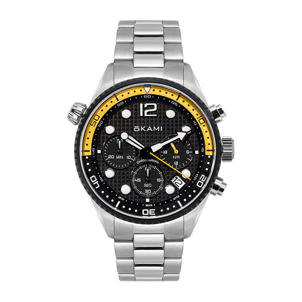 Мужские часы с хронографом на стальном браслете в Екатеринбурге