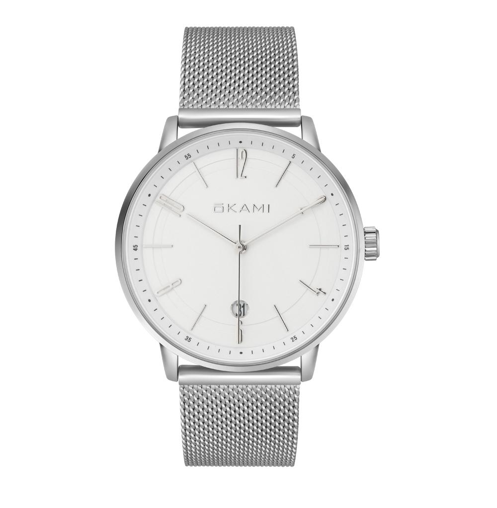 Универсальные часы на миланском браслете