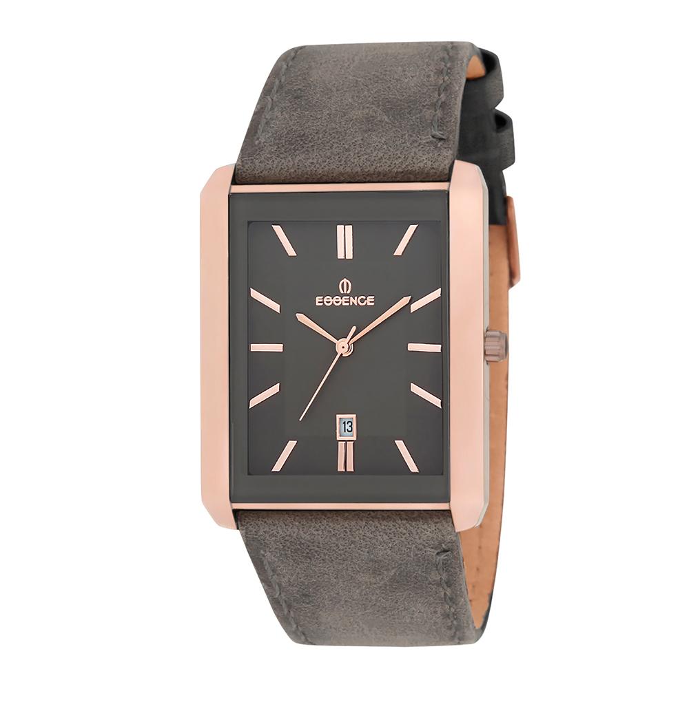 Мужские часы ES6259ME.616 на кожаном ремешке с минеральным стеклом