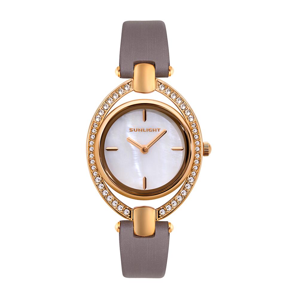 Фото «Женские часы на сатиновом ремне»