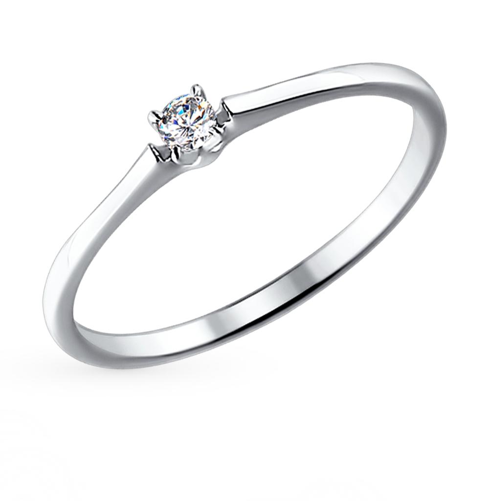 Фото «Золотое кольцо с бриллиантами SOKOLOV 1011355»
