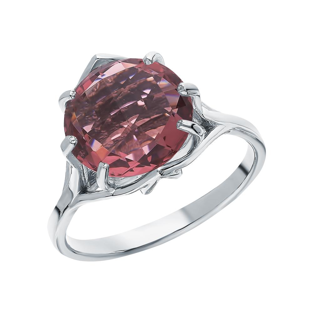 Серебряное кольцо с родолитами в Екатеринбурге