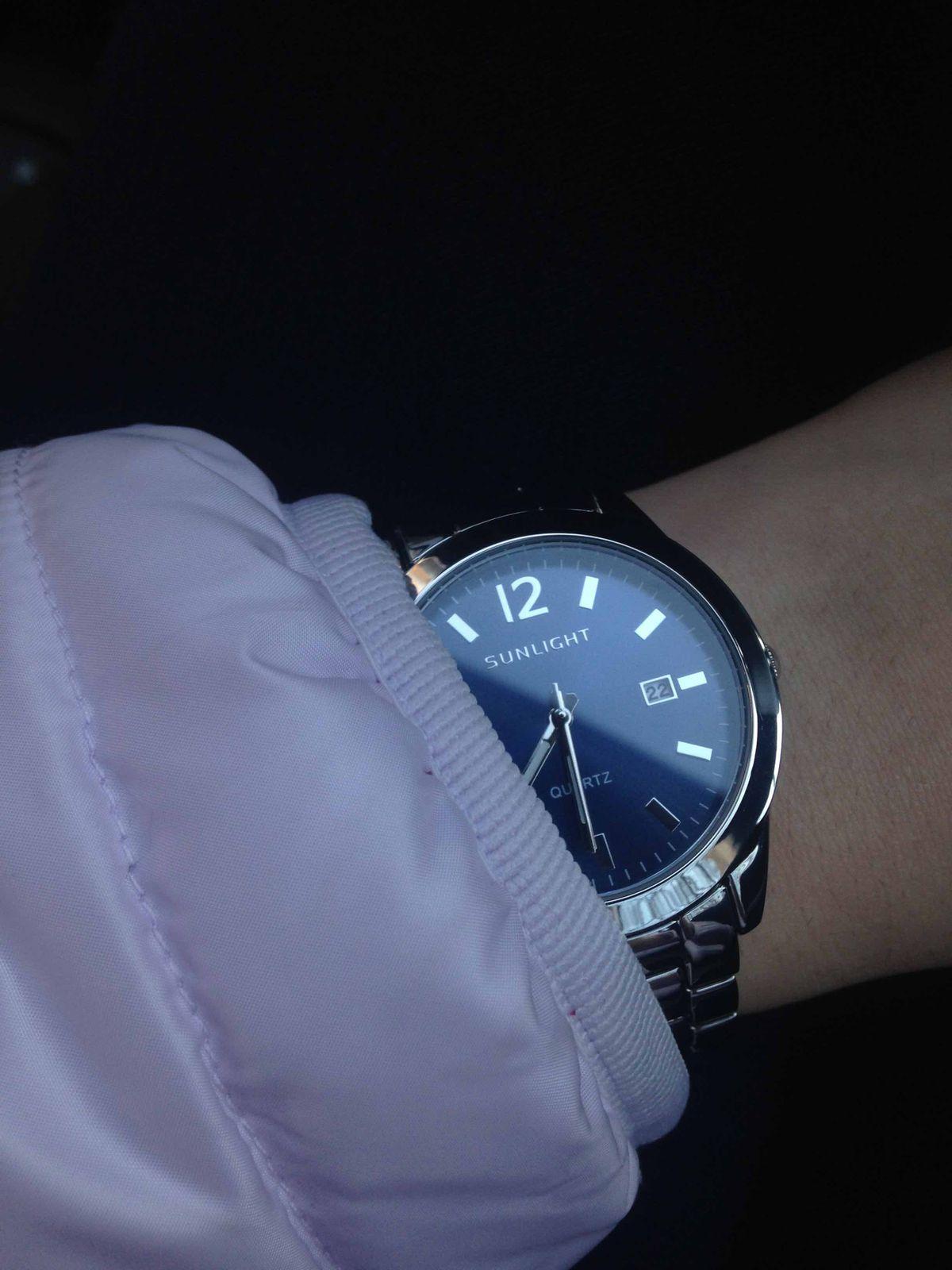 Люблю эти часы