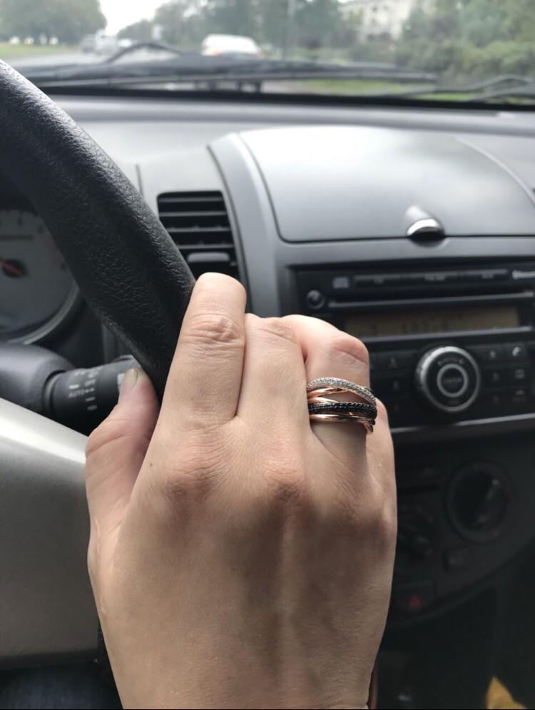 Кольцо-двойник!