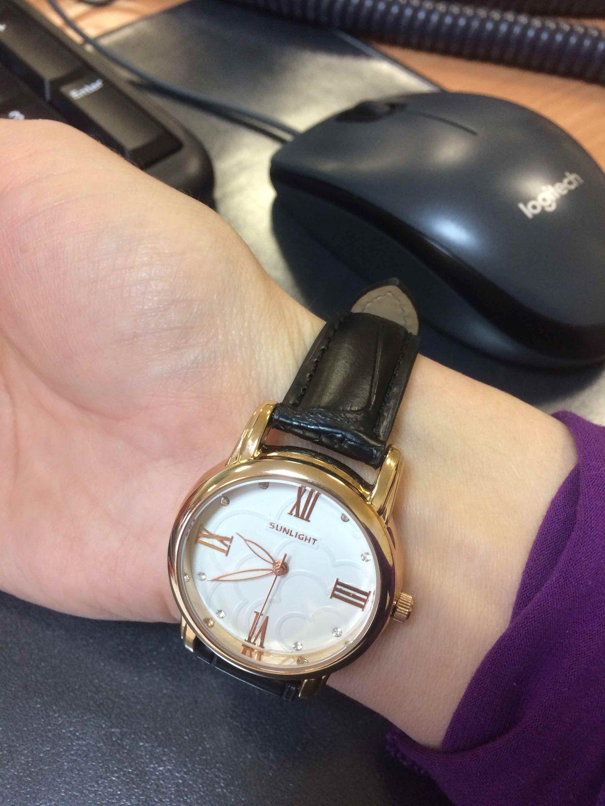 Классные и стильные часы!