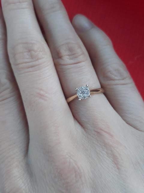 Мое помолвочное кольцо