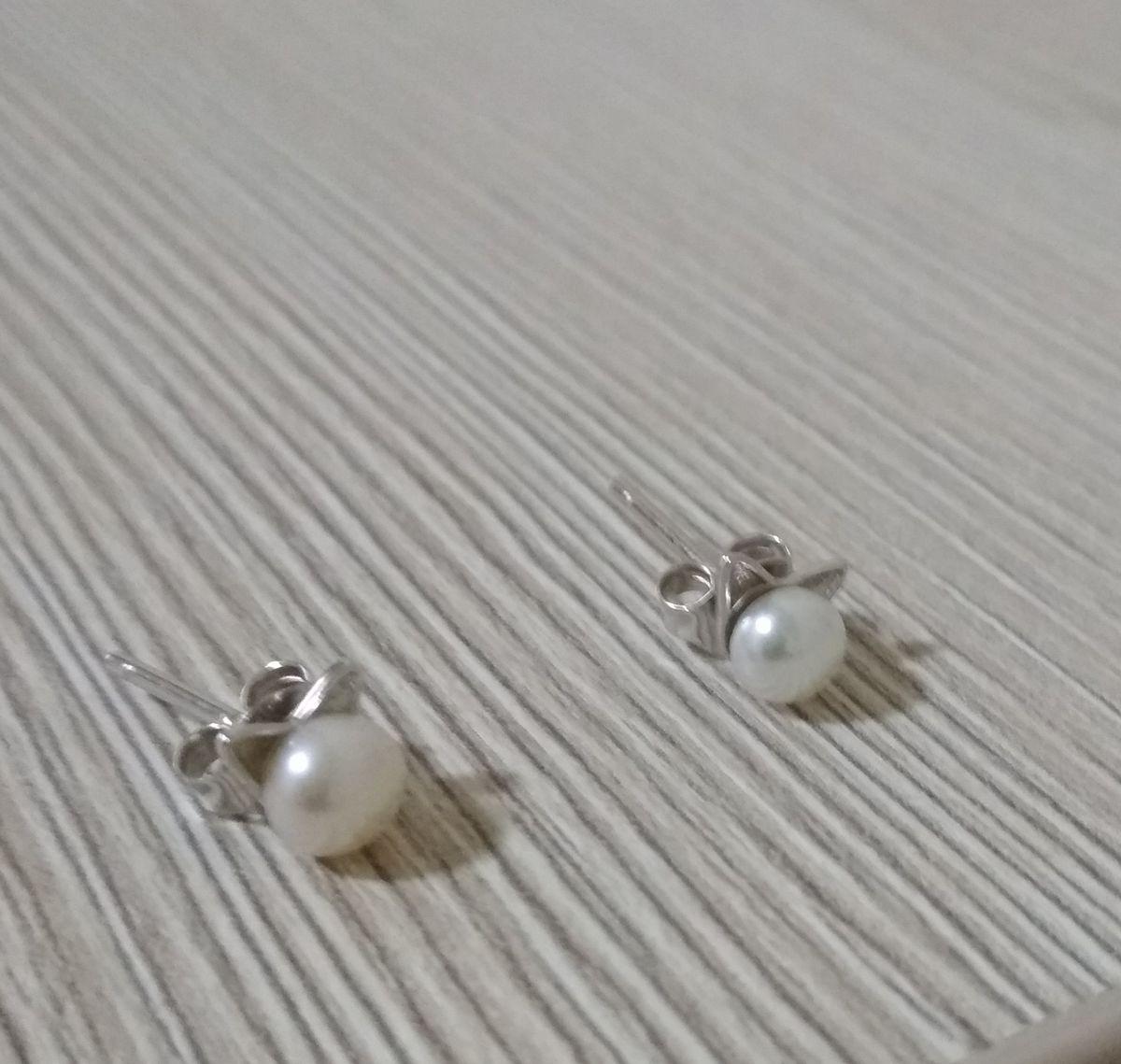 Серёжки -жемчужные кошечки