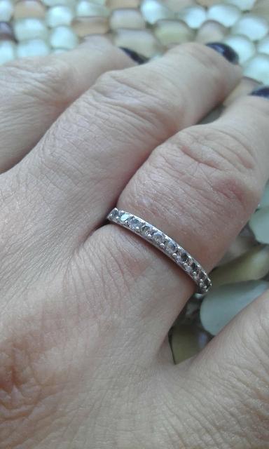 Шикарное и нежное кольцо