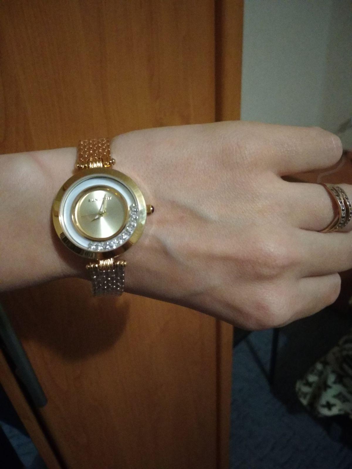 Часики под золото)
