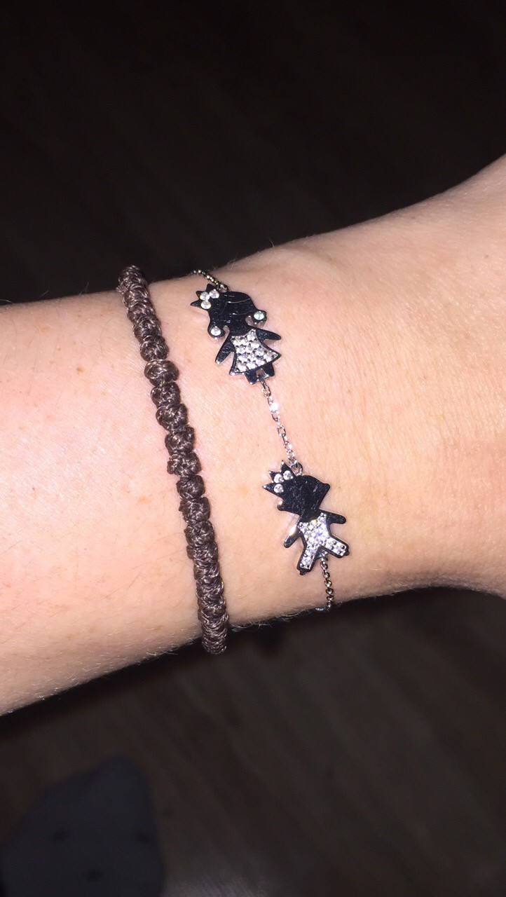 Символичный браслет для любой мамы