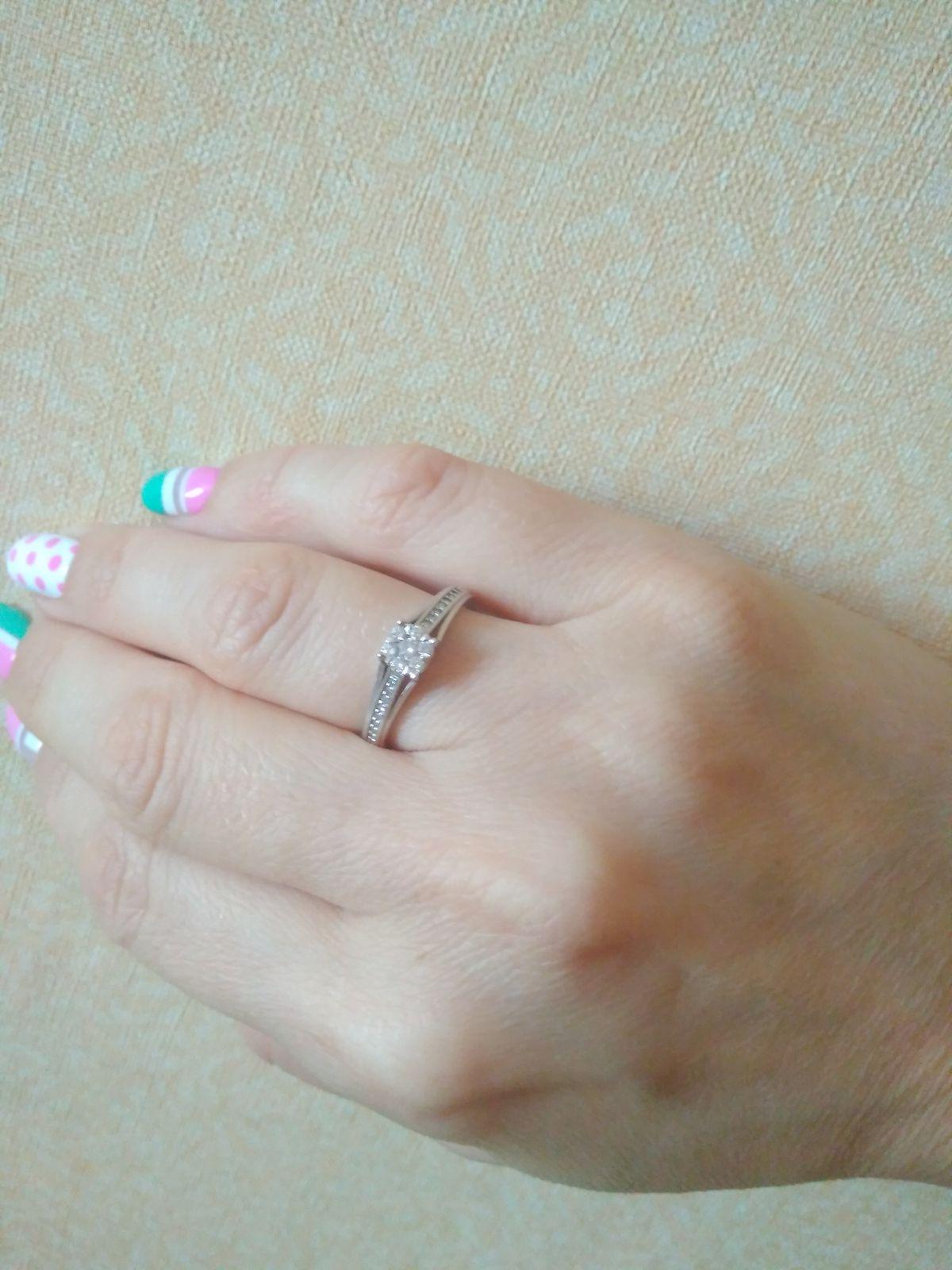 Шикарное! Белое золото с бриллиантами! Мое любимое!!!