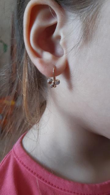 Серёжки для дочки.