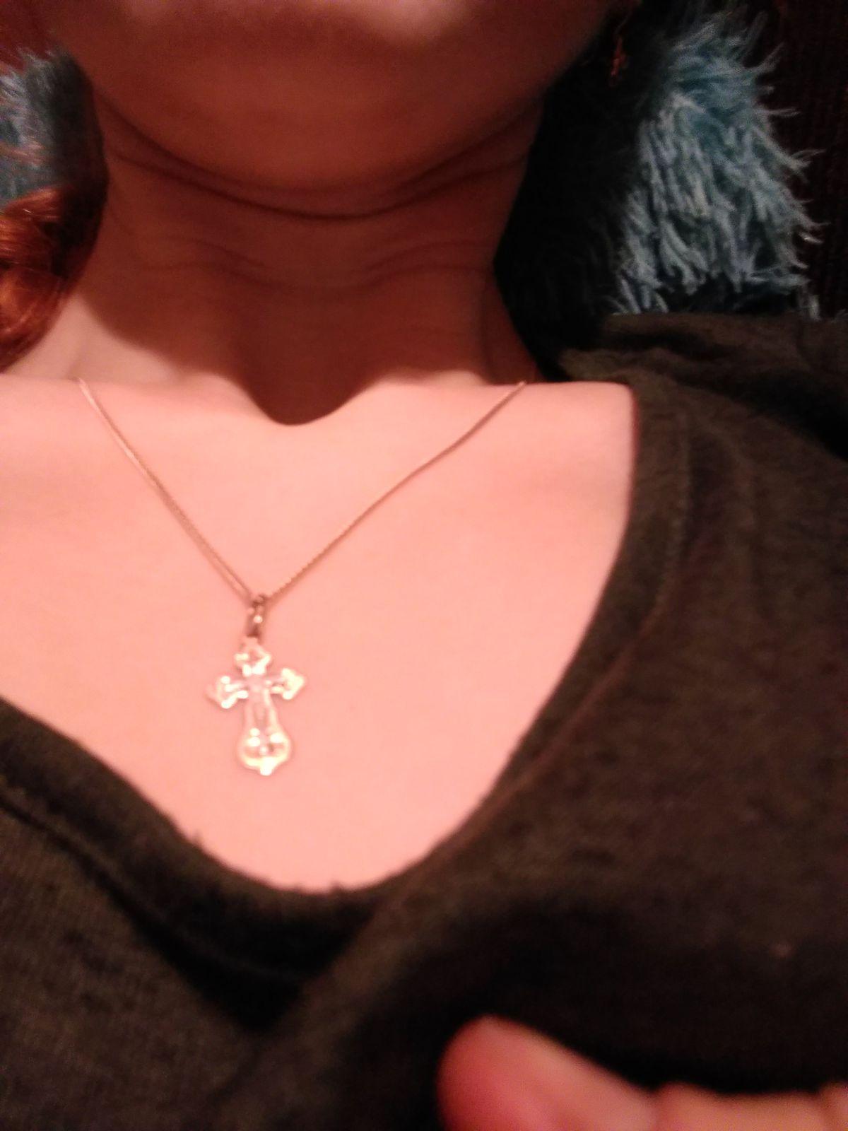 Мой милый крестик.