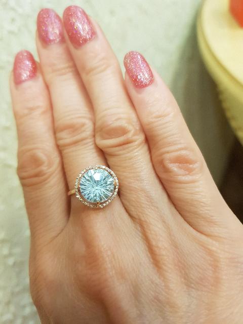 """Это перстень я назвала""""Снежная королева"""""""