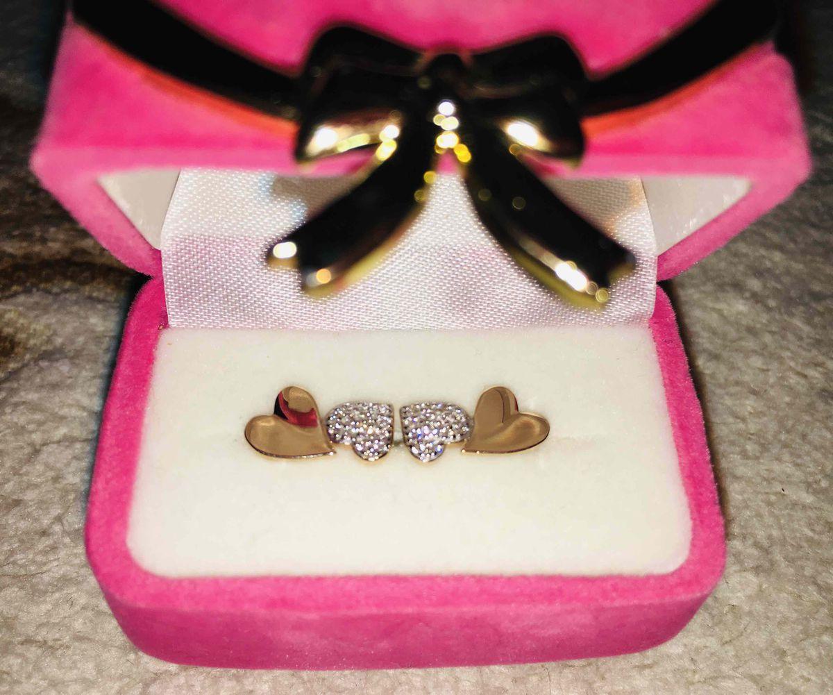 Сережки «Сердечки» для юной девушки