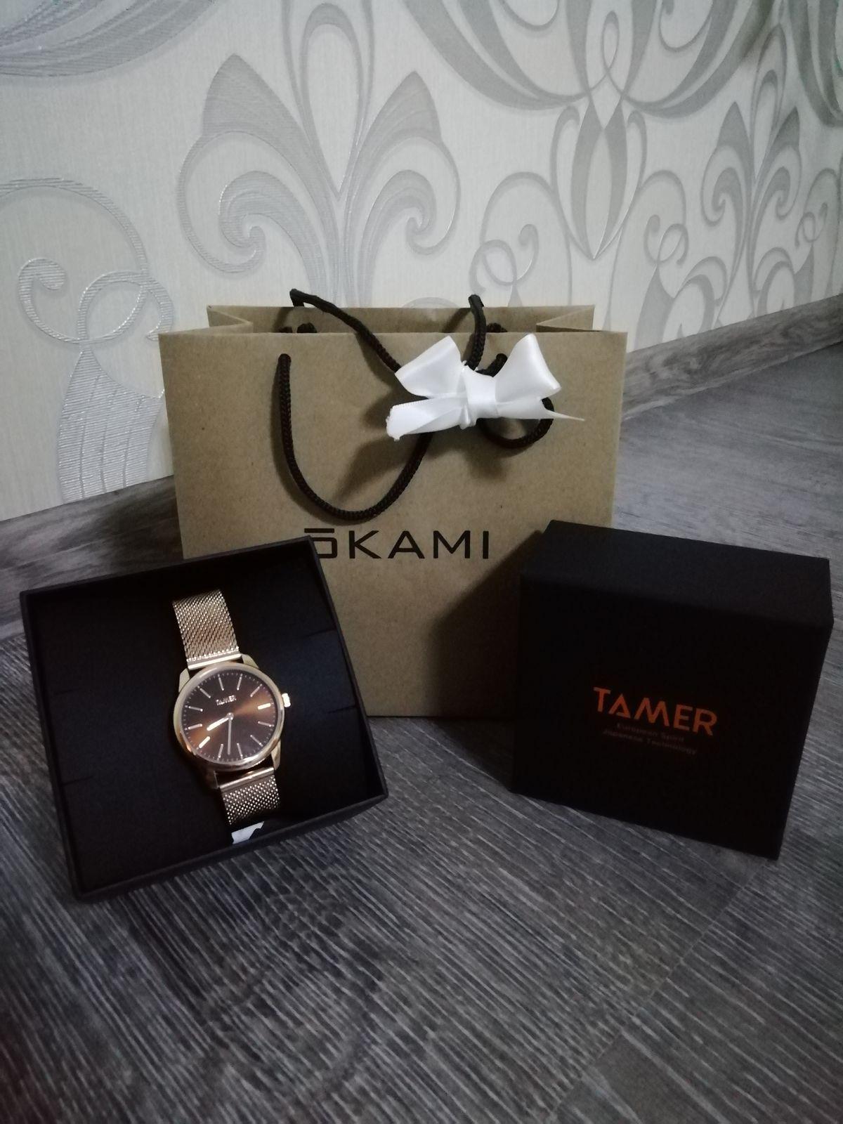 Купила часы, очень довольна!