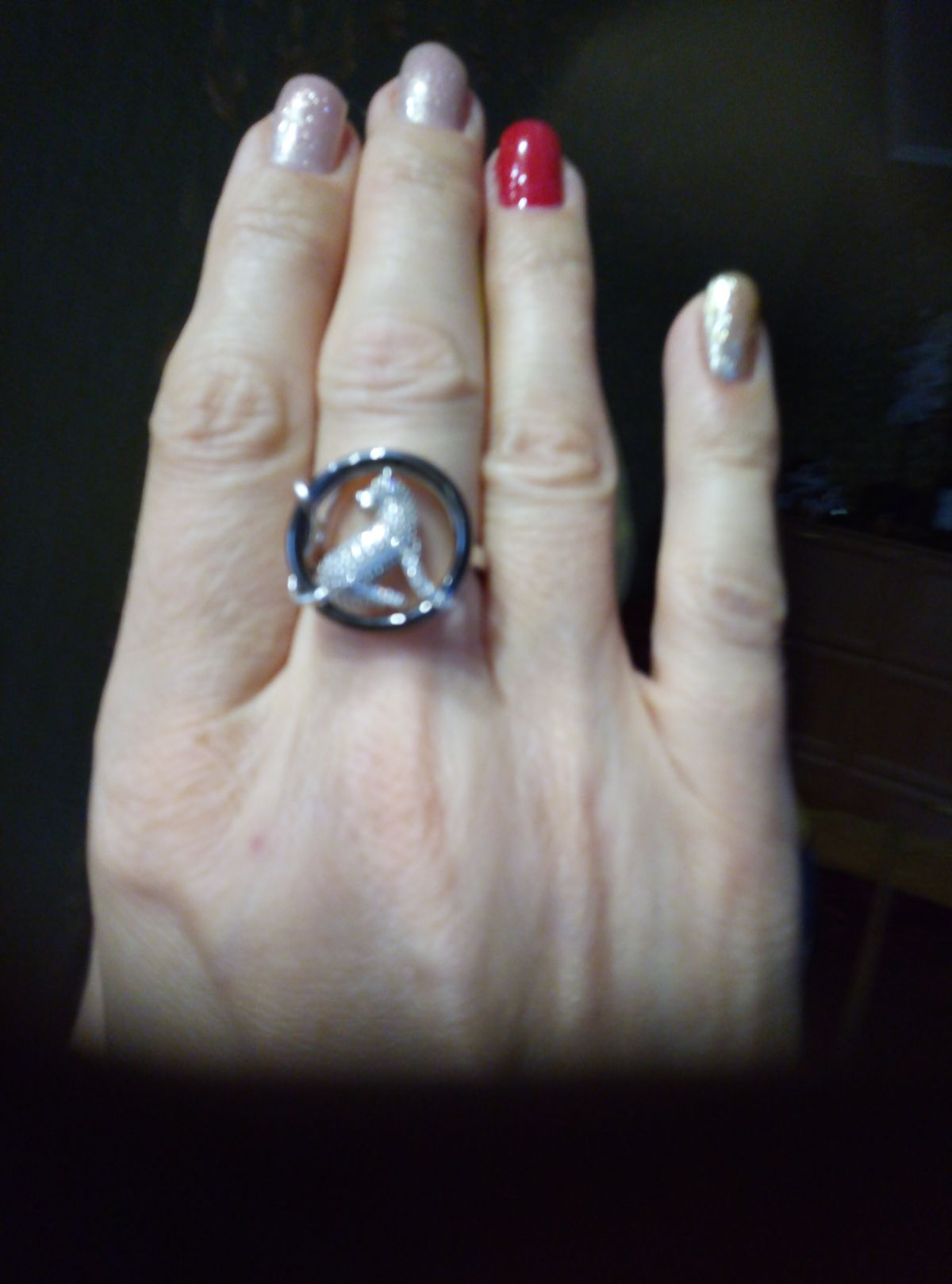 Спасибо за кольцо!