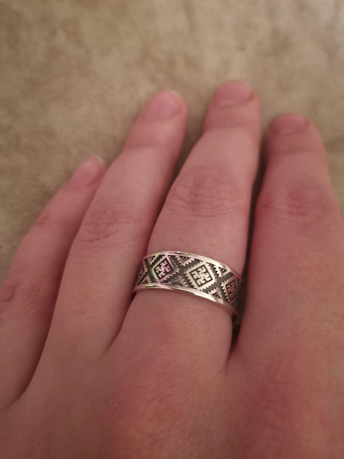 Давно искала кольцо с символом одолень-трава!