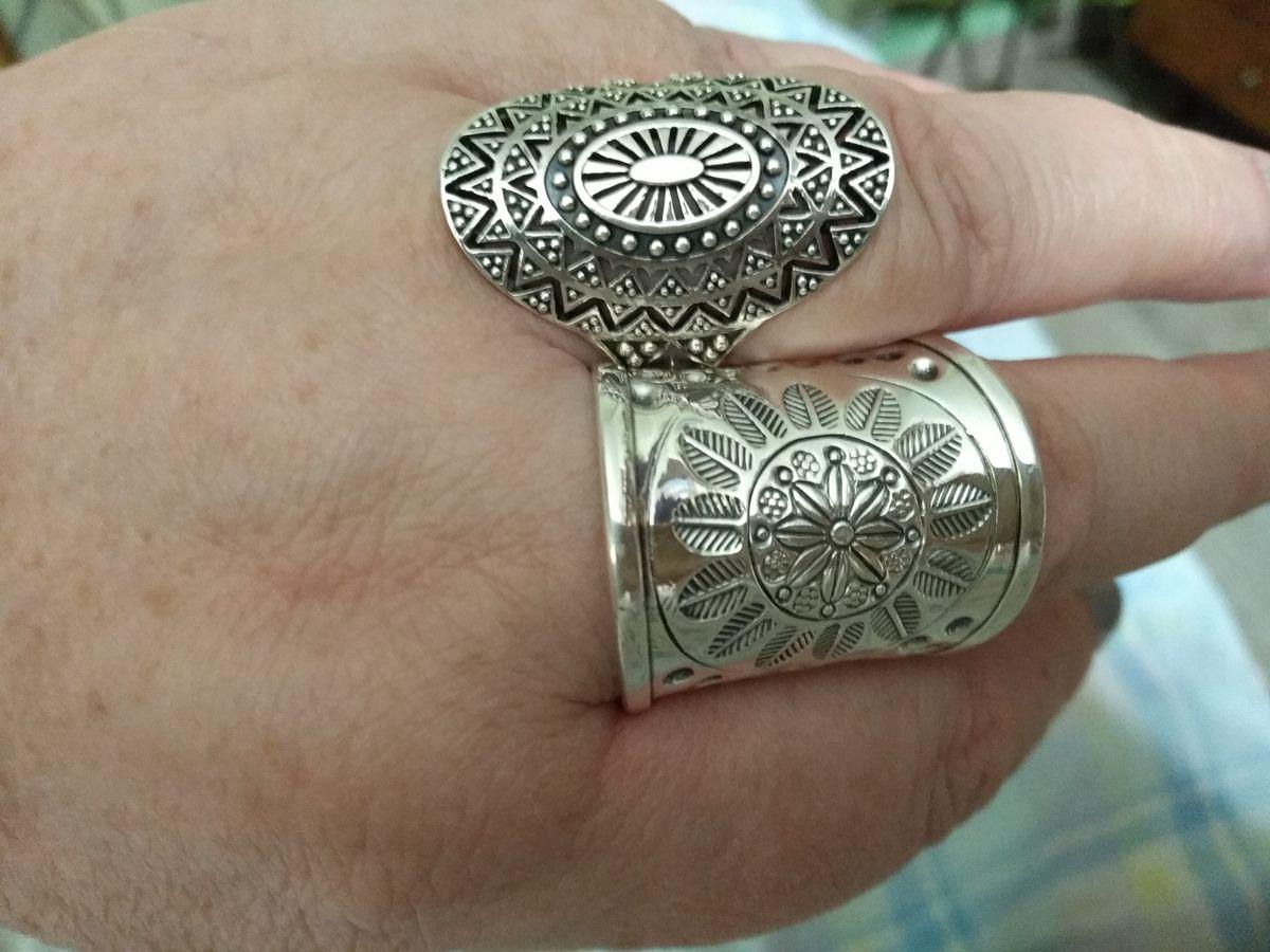 Давно хотела крупное кольцо!