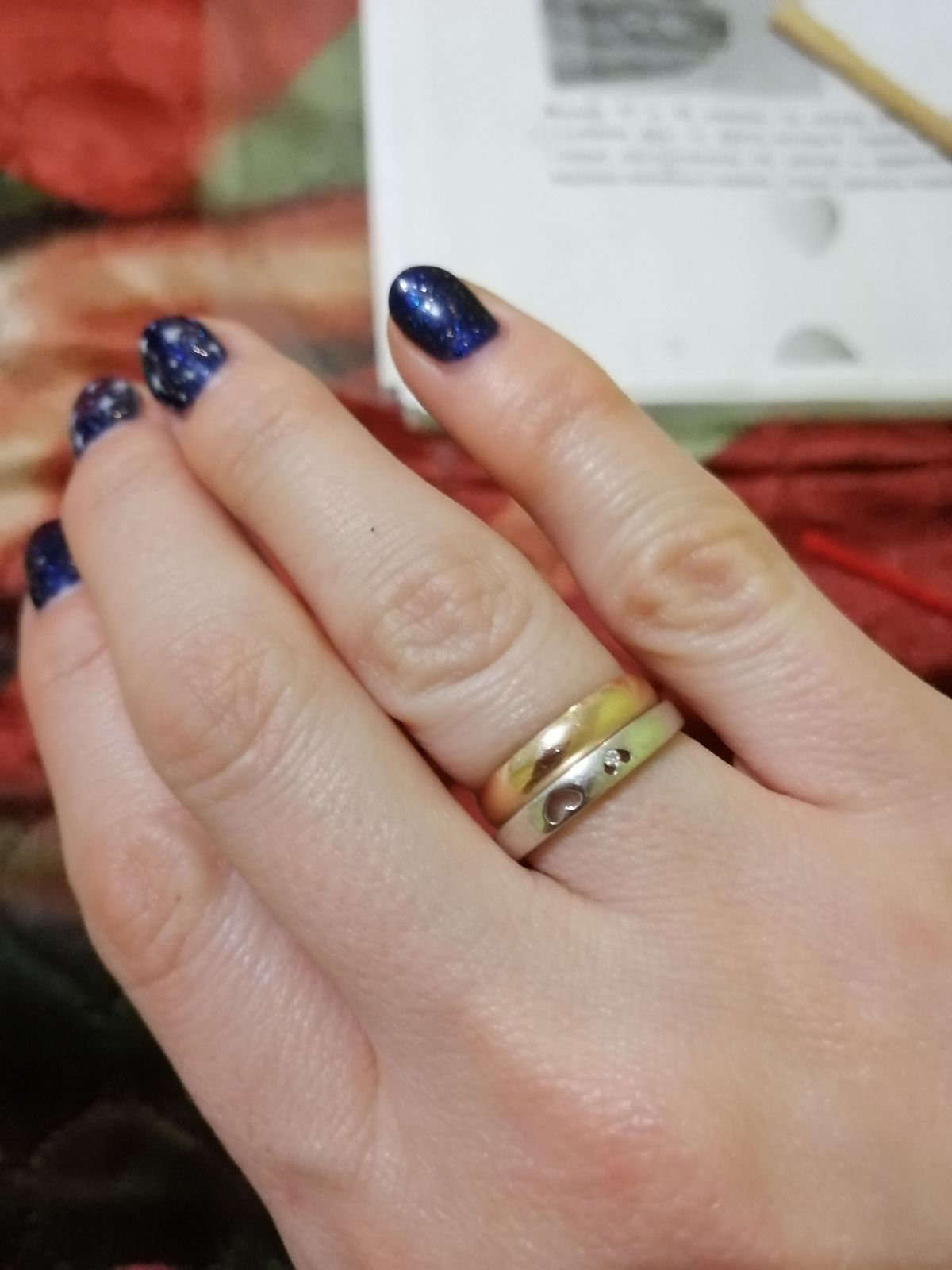 Милое кольцо для венчания