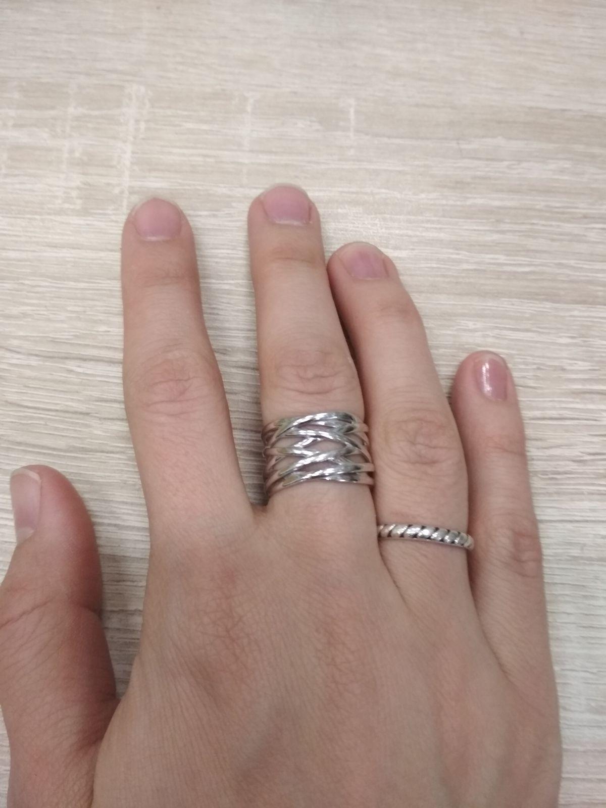 Классное, широкое кольцо