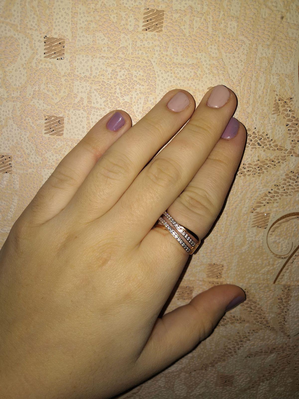 Колечко на указательный палец