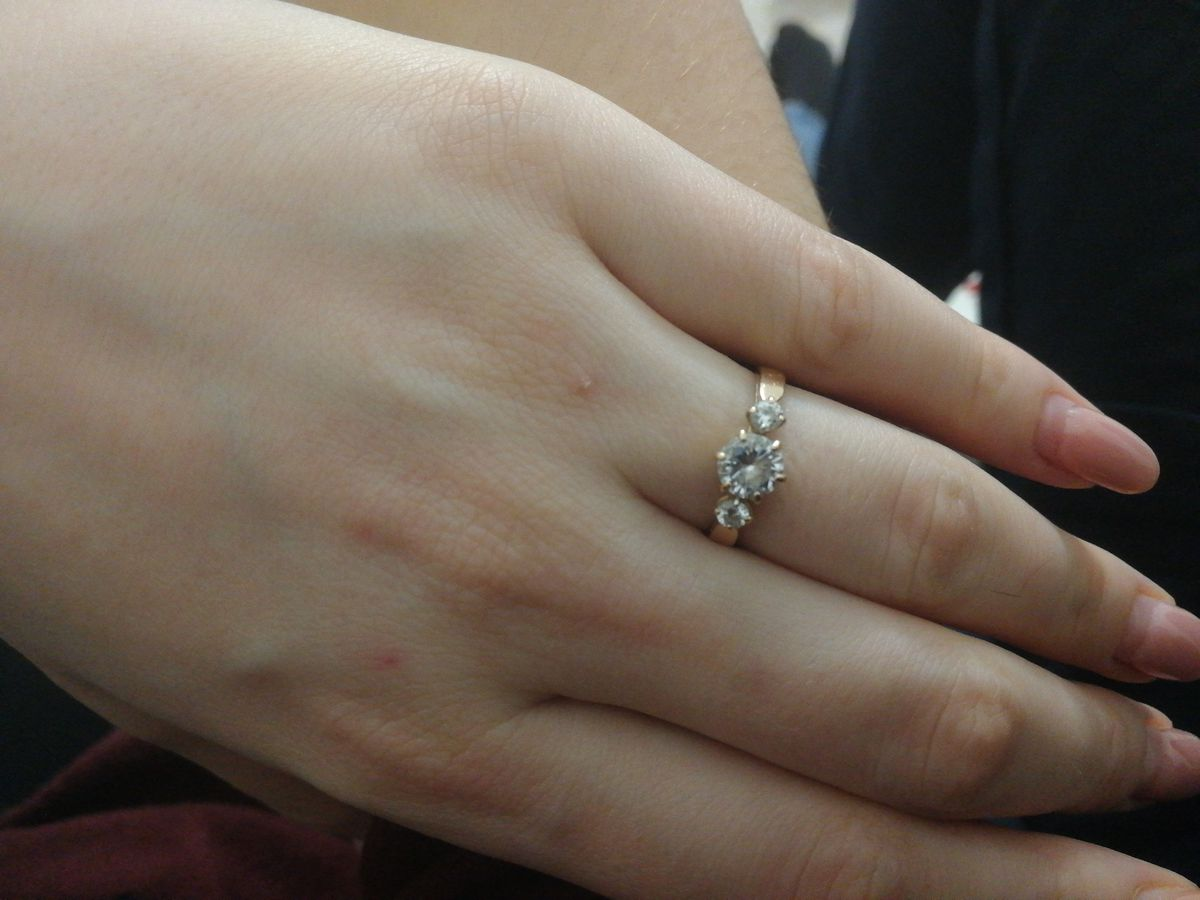 Хорошее кольцо , качество хорошее