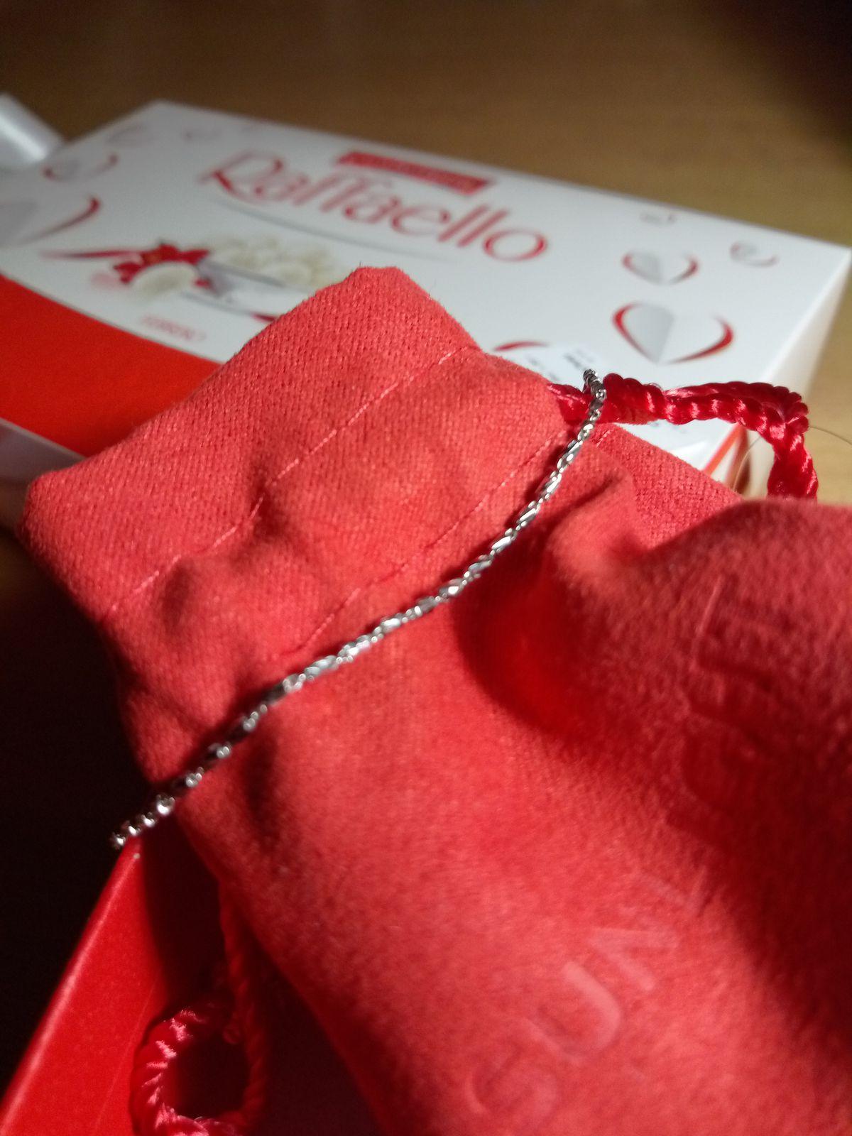 Купила браслетик для подарка