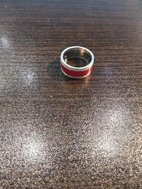 Стильное, молодежное кольцо