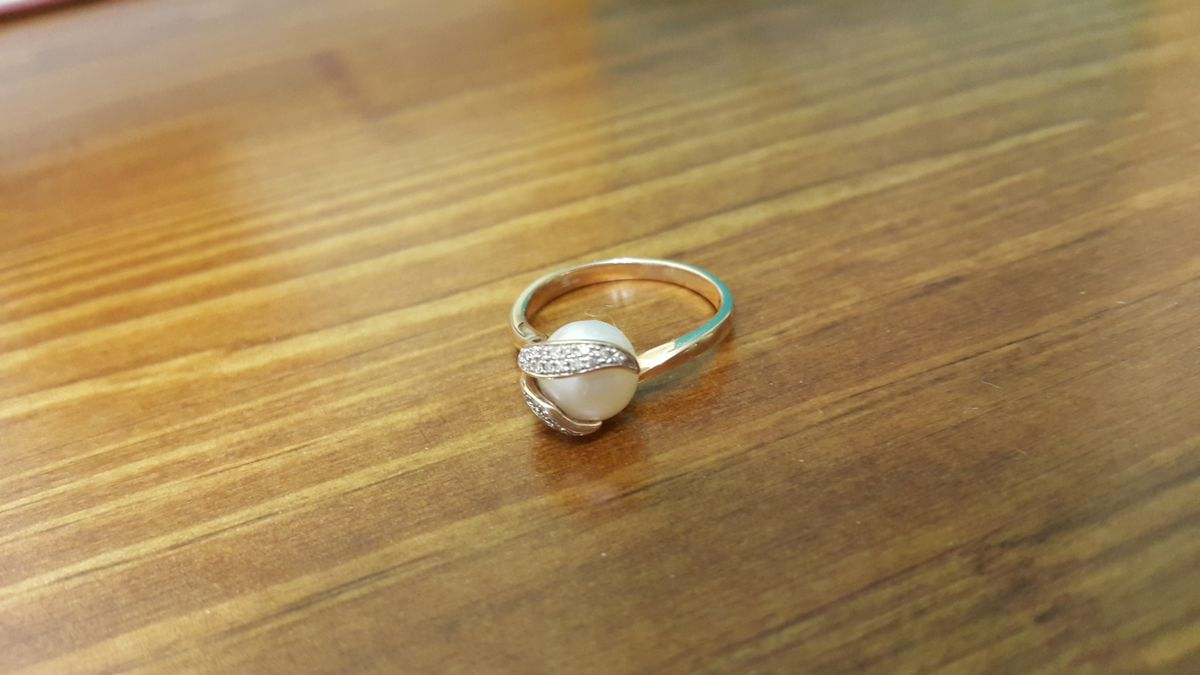 Кольцо с блюликами