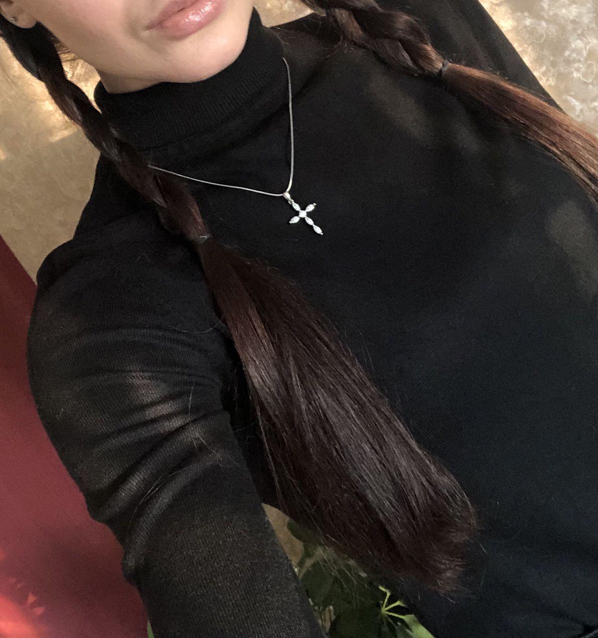Модный крестик