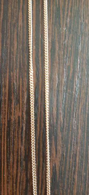 Цепь золотая 50 см.