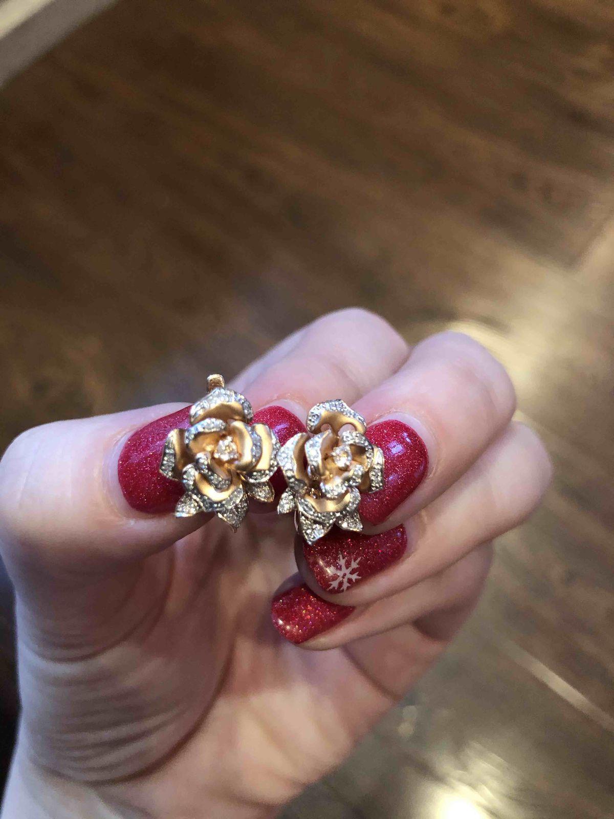 Бриллиантовые лепестки