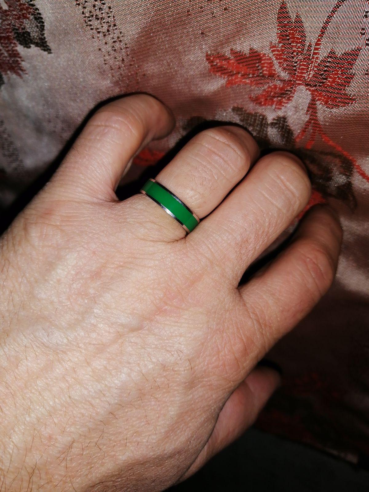 Клёвое кольцо.
