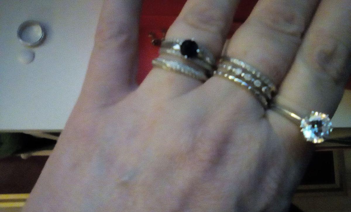 Серебро кольцо с фианитами