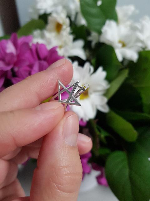 Звезды серьги
