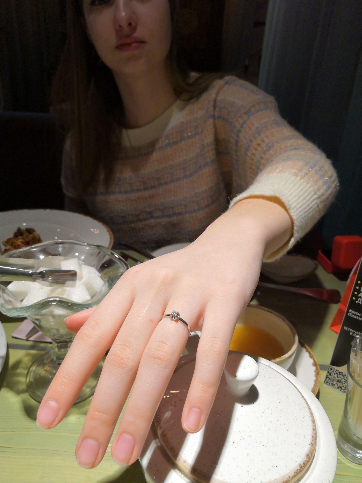 Кольцо на день рождение моей дочери!!!