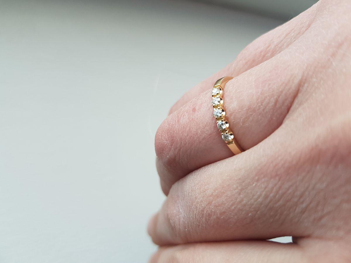 Очень лаконичное кольцо, спасибо, мне очень понравилось!