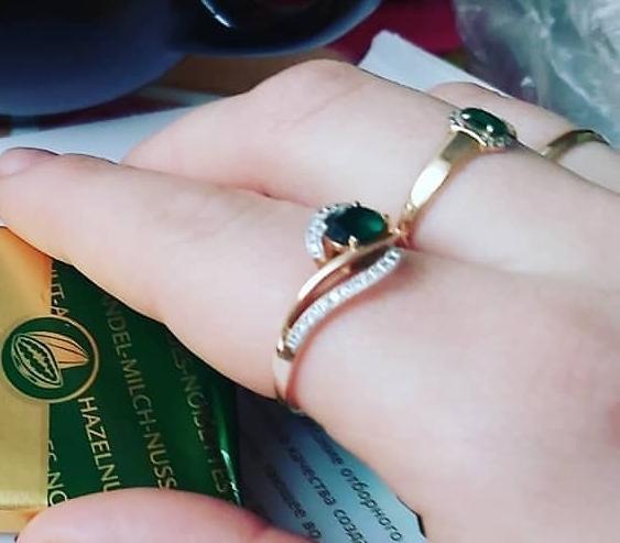 Красивое кольцо, но оказалось брак..