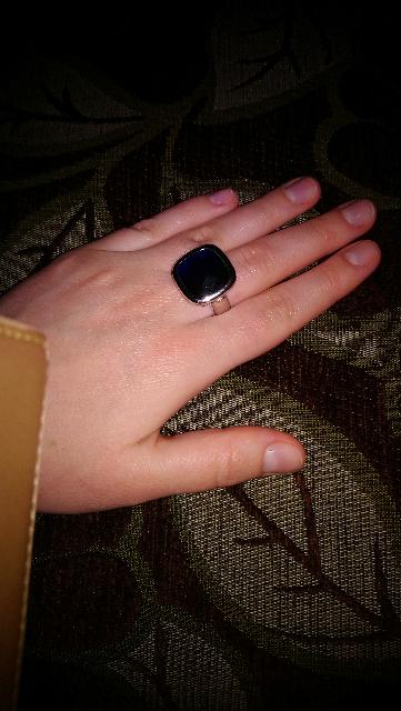 Крупненький перстень, редко большое бывает красивым