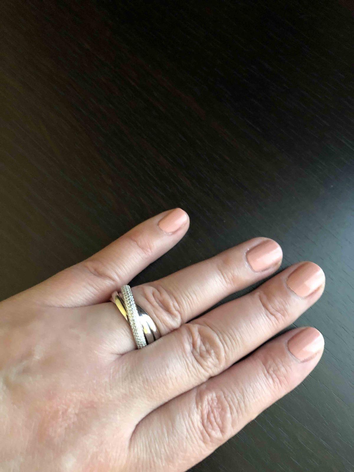 Кольцо с фанитами.
