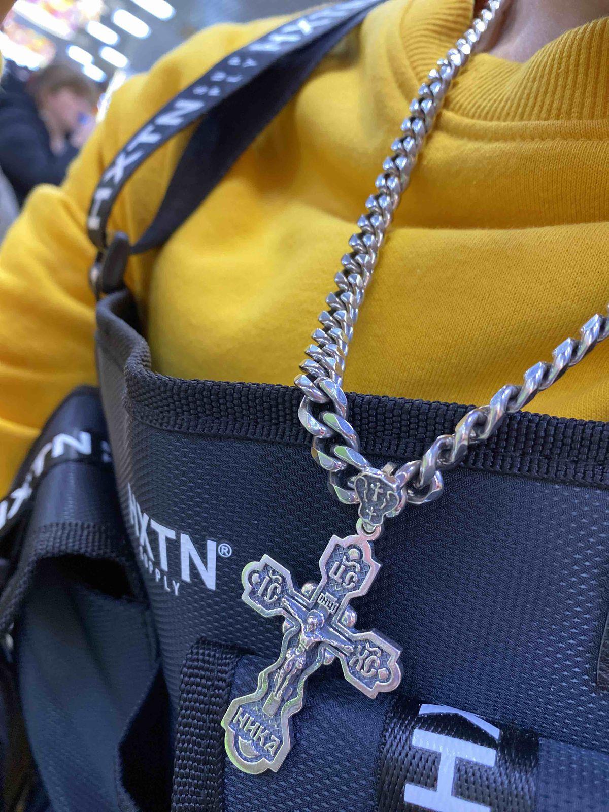 Крест удобный в носке