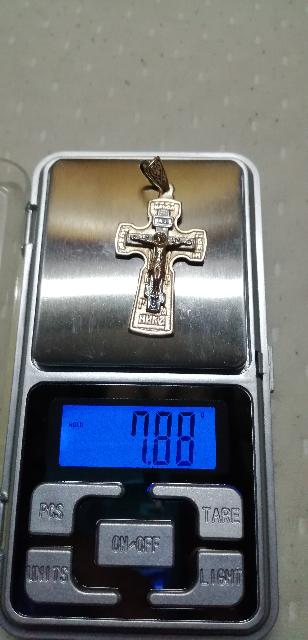 Золотой крестик)