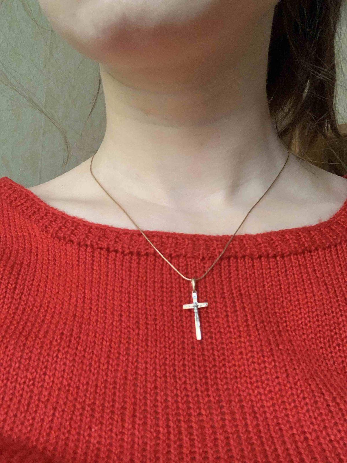 Элегантный и утонченный крестик