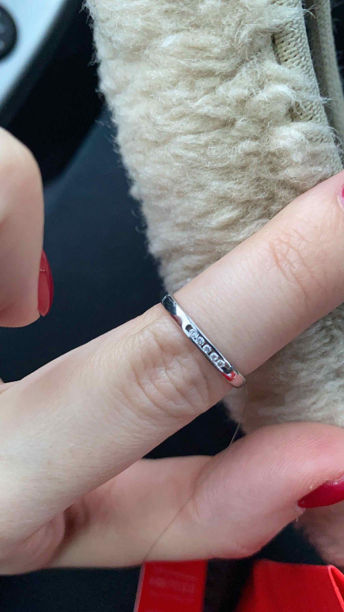 Мое красивущее кольцо на свадьбу