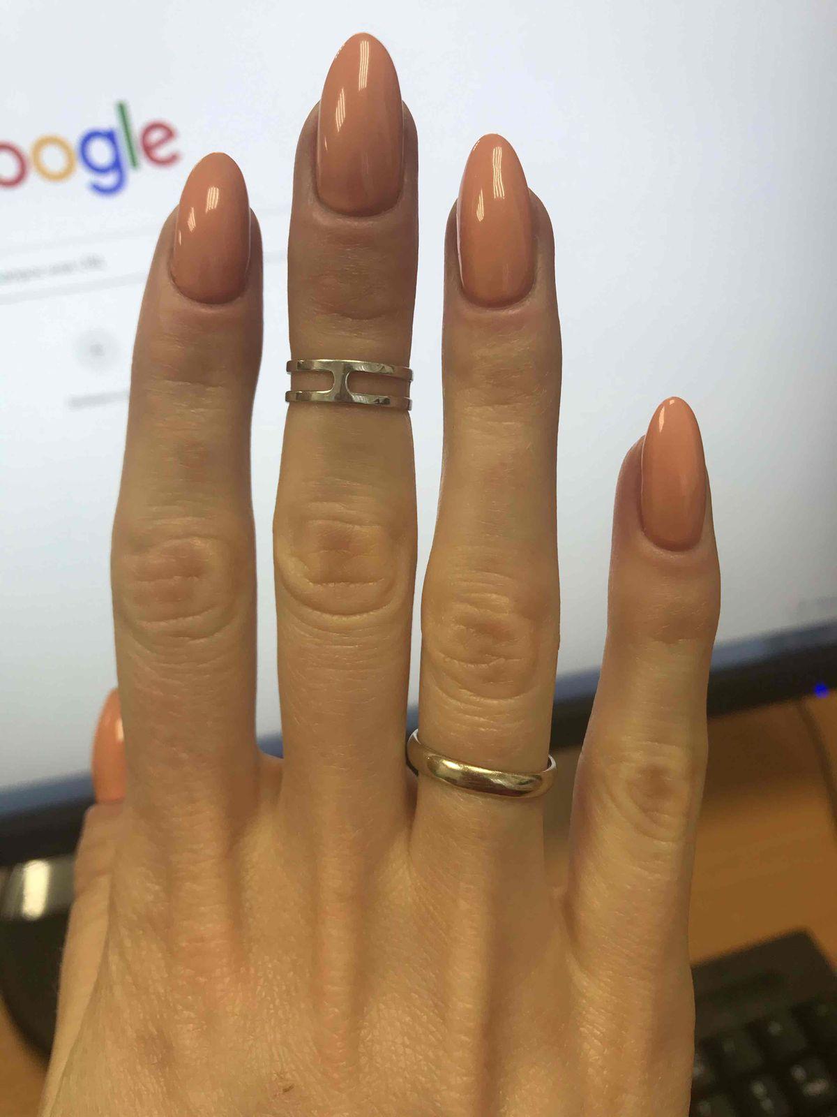 Кольцо на фалангу.