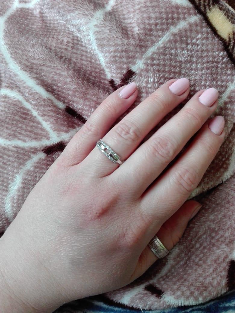 💍 кольцо с фианитами